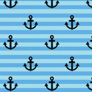 Anchors-Stripes-blue-background
