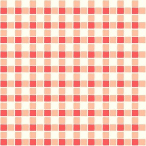 Homestead Almost Gingham Red
