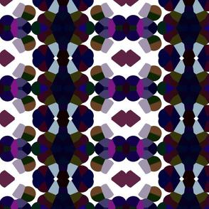 Kaleidoscope Navy & Purple