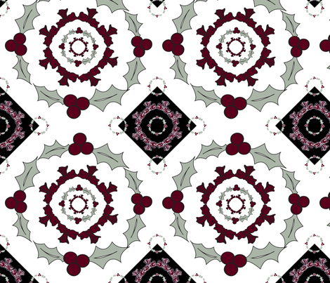 Elegant Holiday Design fabric by brandymiller on Spoonflower - custom fabric