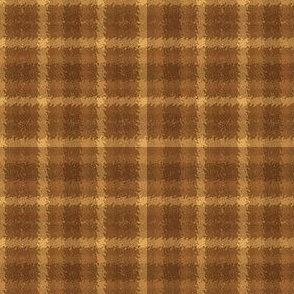 JP22 - Pecan Praline Jagged Plaid