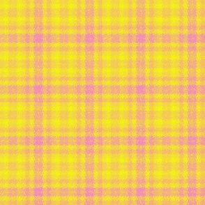 JP26 - Pink Lemonade Jagged Plaid