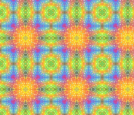 Rainbow Feather fabric by karwilbedesigns on Spoonflower - custom fabric