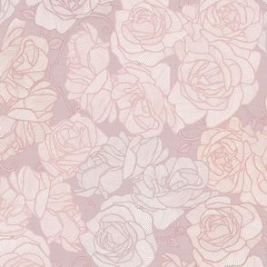 Rose Garden - Rose Gold