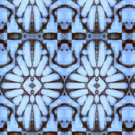International Jewel Archetype / Iolite fabric by franbail on Spoonflower - custom fabric