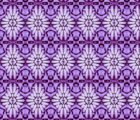 International Jewel Archetype / Amethyst fabric by franbail on Spoonflower - custom fabric