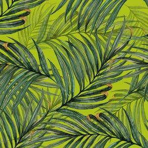 King Pineapple Leaves acid green