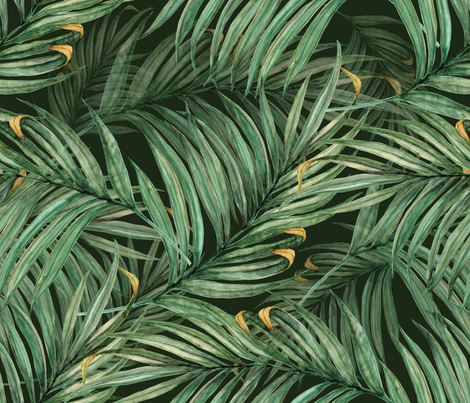 King Pineapple Leaves military fabric by chicca_besso on Spoonflower - custom fabric