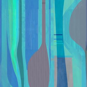 midcentury plateau-aqua blue