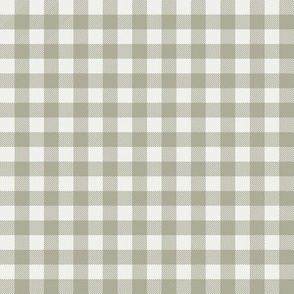 "sage check fabric - sfx0110 - 1/2"" squares - check fabric, neutral plaid, plaid fabric, buffalo plaid"