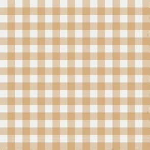 "wheat check fabric - sfx1225 - 1/2"" squares - check fabric, neutral plaid, plaid fabric, buffalo plaid"