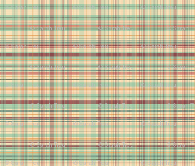 Market Plaid - Large Scale
