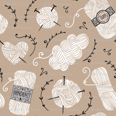 Yarn A - Taupe