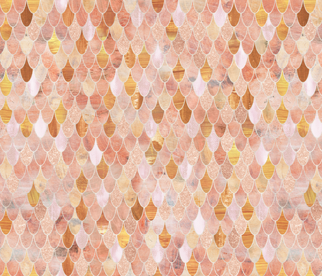 goldfish scales  fabric by schatzibrown on Spoonflower - custom fabric