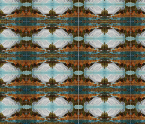 Whispering Water fabric by aspen_creations on Spoonflower - custom fabric