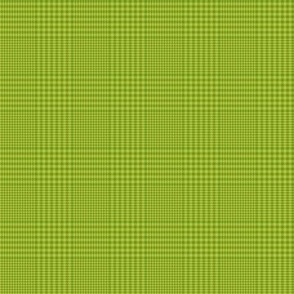 "Prince of Wales check #3, 2"" apple green"