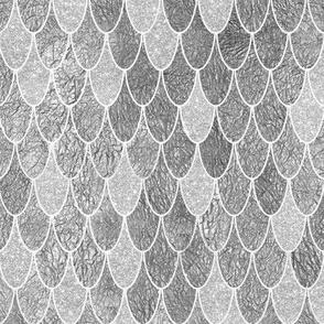 mermaid scales silver