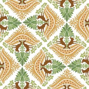 vintage hunting design