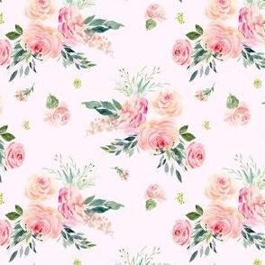 """4"""" Graceful Blooms - Blush"""