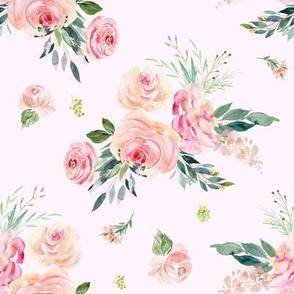 """8"""" Graceful Blooms - Blush"""