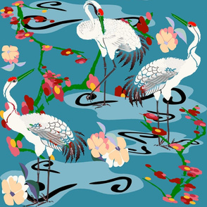 Cranes Garden copy