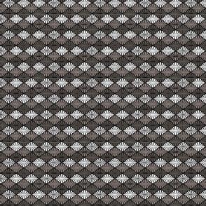 geo diamonds grey