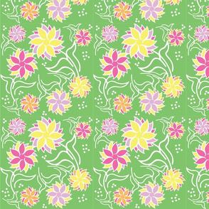Geo Flower green