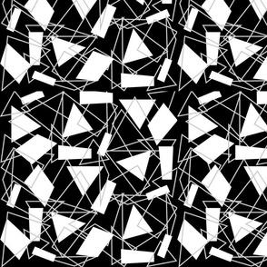 Geo black and white-ed