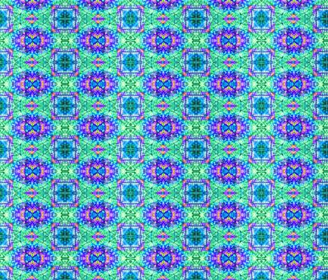 Purple & Blue Bowtie Eyes fabric by just_meewowy_design on Spoonflower - custom fabric