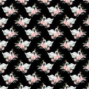"1.5"" Graceful Swan - Black"