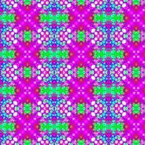 Spotty Purple & Green Stripes