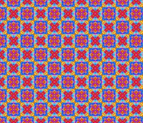 Primary Colored Dabs fabric by just_meewowy_design on Spoonflower - custom fabric