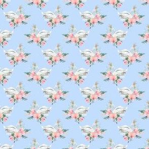 """1.5"""" Graceful Swan - Blue"""