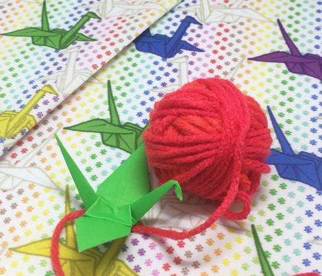 Paper Crane - Rainbow