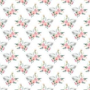 "1.5"" Graceful Swan - White"