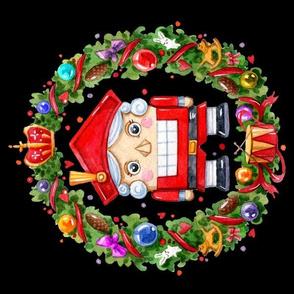 fill a yard Nutcracker Christmas Inga Paltser