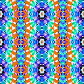 Purple Rosette Stripes