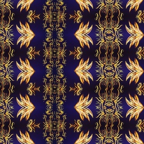 NAVY Gold Royal  V. 2