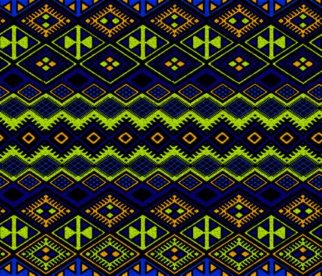 Desert Oasis.1 fabric by fabricadabra_creations on Spoonflower - custom fabric