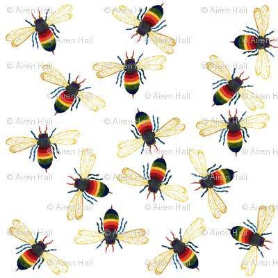 Rainbow Warrior Bee