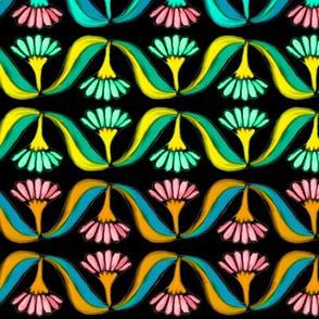 Boho Bohemian Flower Swag 3