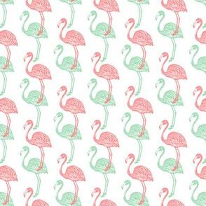 Spring Flamingo