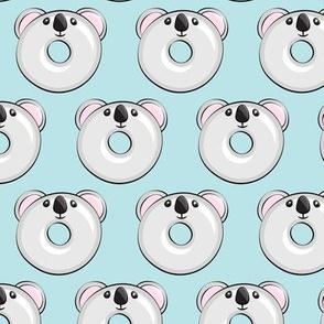 koala donuts - blue