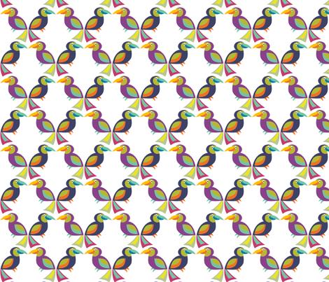 TucanPlayThatGame fabric by alexiazotos on Spoonflower - custom fabric