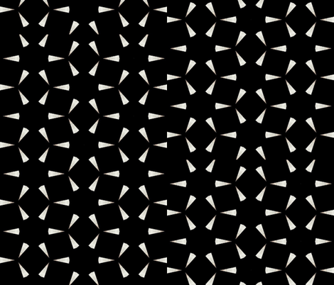 Starry Eve fabric by zmarksthespot on Spoonflower - custom fabric