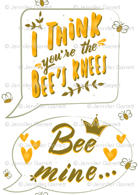 Sweet as Honey Speech Bubble Design