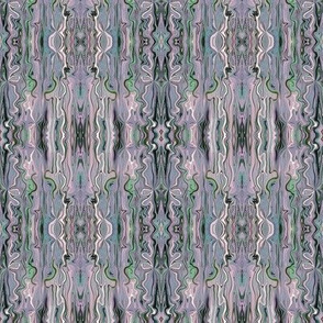BFM17 - Pastel Mauve Butterfly Marble Brocade, with grey and green