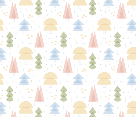 In_The_Woods fabric by eva_martínez on Spoonflower - custom fabric