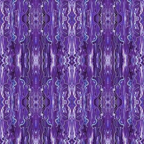 BFM29 - Purple and Blue Butterfly Marble Brocade