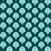 blue lotus leaf